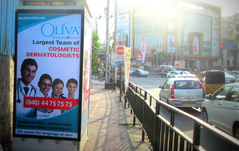 Billboard Advertising Cost Nagarjuna Circle
