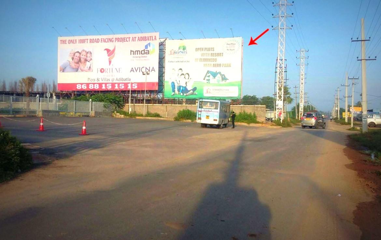 Advertisement Billboard In Adibatla Tcs Road