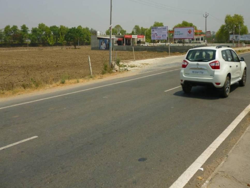 Billboards Ads in Entry Delhi