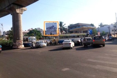 Advertisement Billboards In Chandra Layout Signal