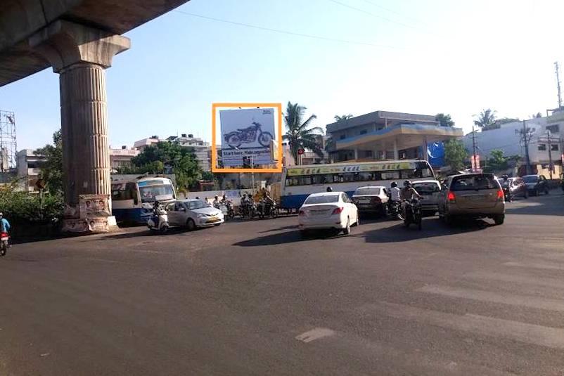 Advertisement Billboards In Chandra Layout Signal