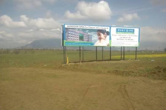 Unipole Ads In Saffron Field Pampore