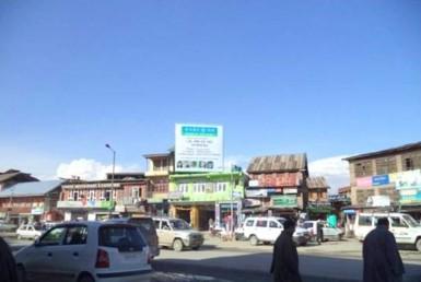 Unipoles Ads In Chowk Bijbehara